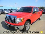 2011 Race Red Ford F150 XLT SuperCrew #57872656