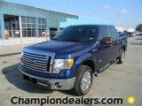 2011 Dark Blue Pearl Metallic Ford F150 XLT SuperCrew #57872655