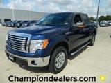 2011 Dark Blue Pearl Metallic Ford F150 XLT SuperCrew 4x4 #57872654