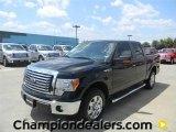 2011 Ebony Black Ford F150 XLT SuperCrew #57872645