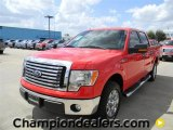 2011 Race Red Ford F150 XLT SuperCrew #57872644