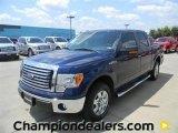 2011 Dark Blue Pearl Metallic Ford F150 XLT SuperCrew #57872643