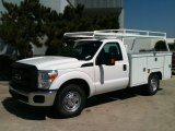 2011 Ford F250 Super Duty XL Regular Cab Chassis Data, Info and Specs