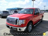 2011 Race Red Ford F150 XLT SuperCrew #57872640