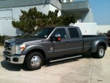 Sterling Gray Metallic Ford F350 Super Duty in 2011