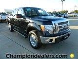2011 Ebony Black Ford F150 Lariat SuperCrew 4x4 #57872628