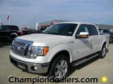 2011 White Platinum Metallic Tri-Coat Ford F150 Lariat SuperCrew 4x4 #57872627