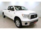 2008 Super White Toyota Tundra SR5 Double Cab 4x4 #58090424