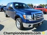 2011 Dark Blue Pearl Metallic Ford F150 XLT SuperCrew #57872618