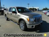 2011 Pale Adobe Metallic Ford F150 XLT SuperCrew #57872616
