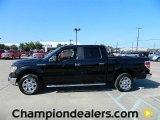 2011 Ebony Black Ford F150 XLT SuperCrew #57872614