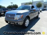 2011 Sterling Grey Metallic Ford F150 Platinum SuperCrew 4x4 #57872607