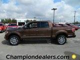 2011 Golden Bronze Metallic Ford F150 Platinum SuperCrew 4x4 #57872606