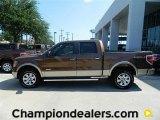 2011 Golden Bronze Metallic Ford F150 Lariat SuperCrew 4x4 #57872602