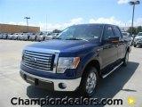2011 Dark Blue Pearl Metallic Ford F150 XLT SuperCrew #57872598