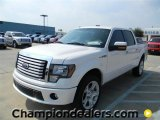 2011 White Platinum Metallic Tri-Coat Ford F150 Limited SuperCrew 4x4 #57872585