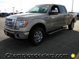 2011 Pale Adobe Metallic Ford F150 Lariat SuperCrew 4x4 #57872584