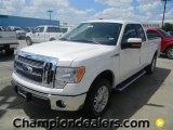 2011 White Platinum Metallic Tri-Coat Ford F150 Lariat SuperCab #57872578