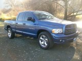 2005 Atlantic Blue Pearl Dodge Ram 1500 Sport Quad Cab #57876312