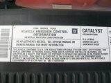2006 Chevrolet Silverado 1500 LT Regular Cab 4x4 Info Tag