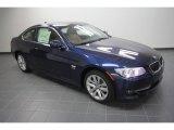 2012 Deep Sea Blue Metallic BMW 3 Series 328i xDrive Coupe #58090377
