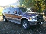 2003 Chestnut Brown Metallic Ford F250 Super Duty King Ranch Crew Cab 4x4 #57876294