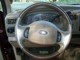 2003 Ford F250 Super Duty King Ranch Crew Cab 4x4 Steering Wheel