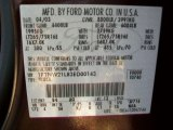 2003 F250 Super Duty Color Code for Chestnut Brown Metallic - Color Code: B4