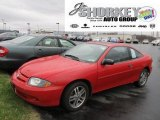 2003 Victory Red Chevrolet Cavalier Coupe #58090368