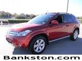 2006 Sunset Red Pearl Metallic Nissan Murano SL #57872461