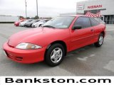 2002 Bright Red Chevrolet Cavalier Coupe #57872453