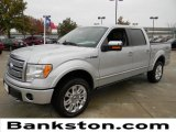 2010 Ingot Silver Metallic Ford F150 Platinum SuperCrew 4x4 #57872435