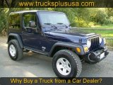 2006 Midnight Blue Pearl Jeep Wrangler Sport 4x4 Golden Eagle #57876280