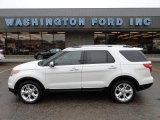 2011 White Platinum Tri-Coat Ford Explorer Limited 4WD #58090340