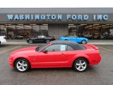 2006 Torch Red Ford Mustang GT Premium Convertible #58090338