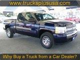2010 Imperial Blue Metallic Chevrolet Silverado 1500 LS Extended Cab 4x4 #57876273