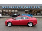 2010 Sangria Red Metallic Ford Fusion SE V6 #58090333