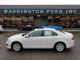 2010 White Suede Ford Fusion SE V6 #58090332