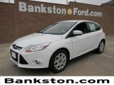 2012 Oxford White Ford Focus SE 5-Door #57872374