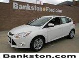 2012 White Platinum Tricoat Metallic Ford Focus SEL 5-Door #57872368