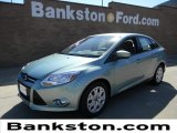 2012 Frosted Glass Metallic Ford Focus SE Sedan #57872361