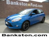 2012 Blue Candy Metallic Ford Focus SE Sport 5-Door #57872360