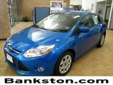 2012 Blue Candy Metallic Ford Focus SE 5-Door #57872359