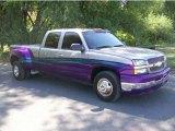 Light Pewter Metallic Chevrolet Silverado 3500 in 2003
