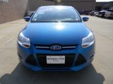 2012 Blue Candy Metallic Ford Focus SE Sport Sedan #57872356