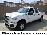2012 Oxford White Ford F250 Super Duty XLT Crew Cab 4x4 #57872316