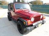 1999 Jeep Wrangler Chili Pepper Red Pearlcoat