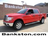 2011 Race Red Ford F150 XLT SuperCrew 4x4 #57872281