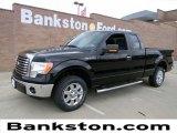 2011 Ebony Black Ford F150 XLT SuperCab #57872278