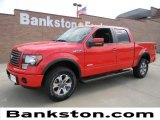 2011 Race Red Ford F150 FX4 SuperCrew 4x4 #57872271